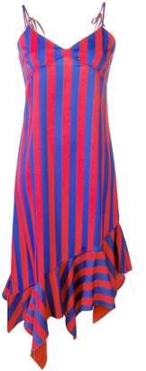 Marques Almeida Marques'Almeida striped slip dress