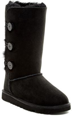 UGG Australia Bailey Button Genuine Sheepskin Triplet Boot (Little Kid & Big Kid) $179.95 thestylecure.com