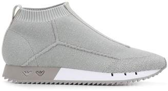 Emporio Armani sock sneakers