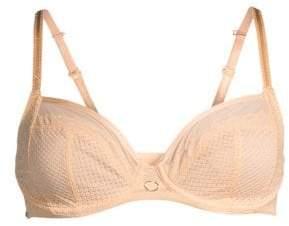 Chantelle Women's Parisian Allure Unlined Plunge Bra - Nude - Size 34B