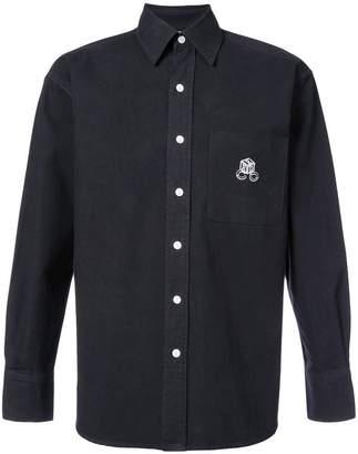Enfants Riches Deprimes logo embroidered shirt