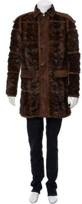 Burberry Mink & Suede Coat