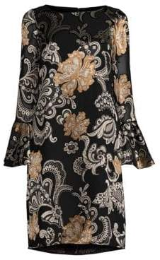 Lafayette 148 New York Jorie Paisley Shift Dress