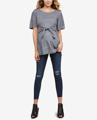 Jessica Simpson Maternity Distressed Skinny Jeans