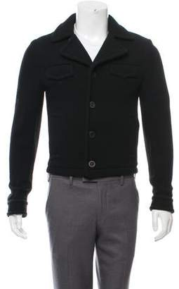 Givenchy Virgin Wool Cropped Jacket