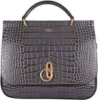 Mulberry Croc Print Tote