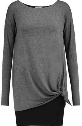 Bailey 44 Knotted Stretch-Knit Top