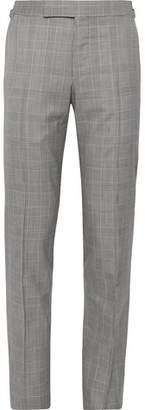 Tom Ford O'connor Slim-Fit Prince Of Wales Checked Wool Suit Trousers
