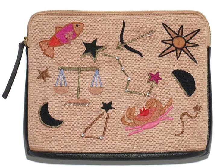Lizzie Fortunato Safari Horoscope Clutch