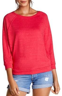 Michael Stars Meghan Raglan-Sleeve Sweatshirt