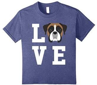 I Love My Dog - Boxer Dog Lover T-Shirt