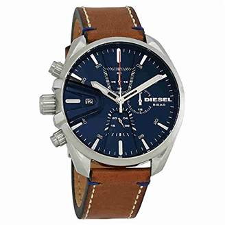 Diesel Men's 'Ms9 Chrono' Quartz Stainless Steel and Leather Casual Watch