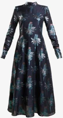 Markus Lupfer Polar Flower Maxi Dress