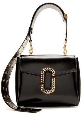 Marc Jacobs St. Marc Top-Handle Bag, Black $1,995 thestylecure.com