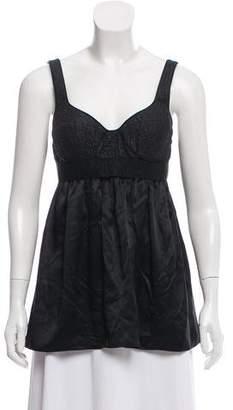 Proenza Schouler Sleeveless Wool-Blend Top