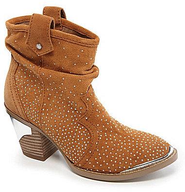 Gianni Bini Danielle Studded Western Booties