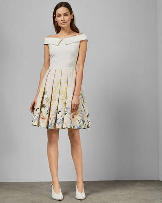 69ad3da6119 Ted Baker OCEANNE Elegant full skirt dress