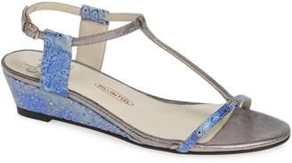 Amalfi by Rangoni Mondale T-Strap Wedge Sandal