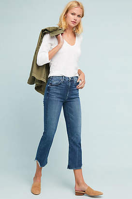 Anthropologie McGuire Gainsbourg High-Rise Cropped Flare Jeans