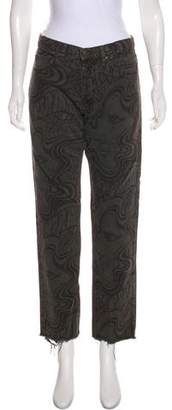 Dries Van Noten Mid-Rise Straight-Leg Jeans