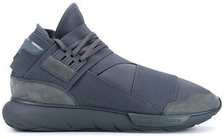 Y-3 'Qasa High Vista' tonal sneakers $344.80 thestylecure.com