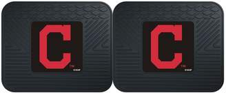 Fanmats FANMATS Cleveland Indians 2-Piece Backseat Utility Mat Set