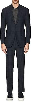 Sartorio Men's PG Plaid Wool Two-Button Suit