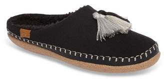 Toms Ivy Wool Faux Shearling Lined Slipper