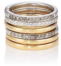 Roberto Marroni Women's Diamond Six-Band Ring - Gold