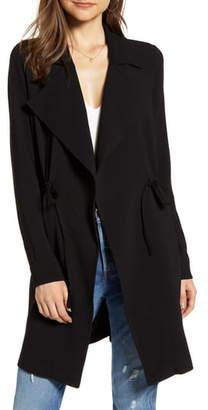 Vero Moda Solid Open Front Jacket