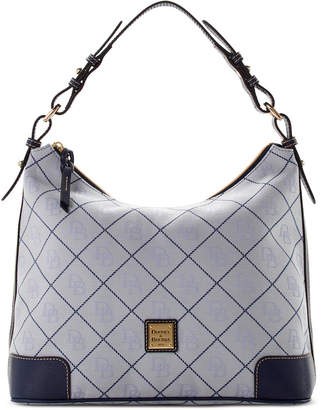 Dooney & Bourke Signature Erica Hobo