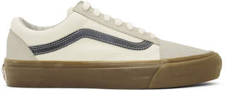 Vans White OG Old School LX Sneakers