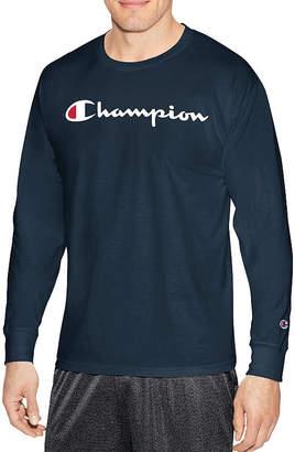 Champion Long Sleeve Crew Neck T-Shirt