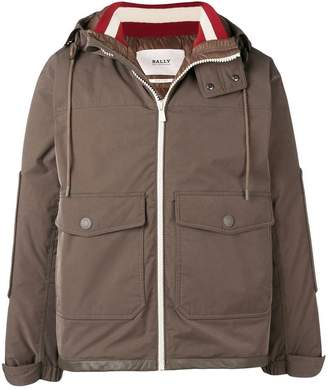 Bally hooded padded jacket