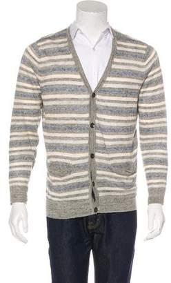 Rag & Bone Striped Linen Cardigan