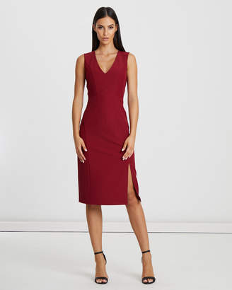 Nixon Seamed Fitted Dress