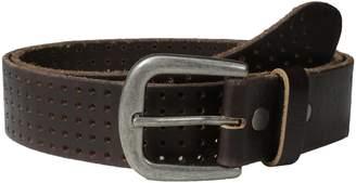 Bill Adler Men's Perforated Jean Belt
