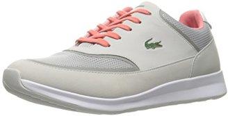 Lacoste Women's Chaumont Lace 316 2 Spw Lt Gry Fashion Sneaker $119.95 thestylecure.com