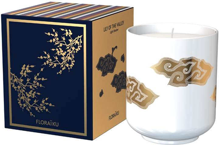 Floraiku Lily of the Valley Tea Cup Candle