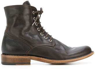 Fiorentini+Baker lace-up fitted boots