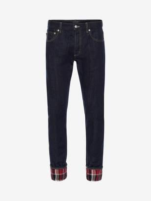 Alexander McQueen Japanese Heavy Denim Jeans