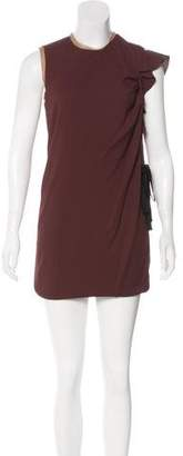 Aquilano Rimondi Aquilano.Rimondi Pleated-Accented Mini Dress w/ Tags