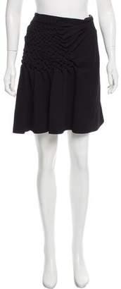 3.1 Phillip Lim Gathered Knee-Length Skirt w/ Tags