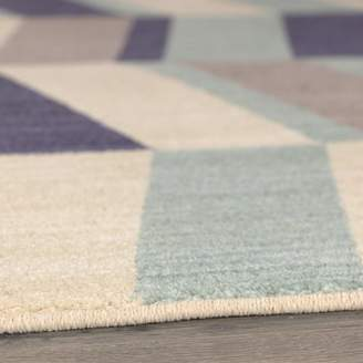 Harriet Bee Paulette Aqua Area Rug Rug