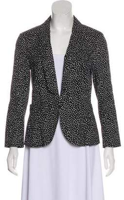Nina Ricci Printed Linen-Blend Blazer