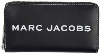 Marc Jacobs (マーク ジェイコブス) - Marc Jacobs ブラック スタンダード タグ コンチネンタル ウォレット