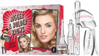 Benefit Cosmetics Bigger & Bolder Brows Kit Buildable Color Kit for Dramatic Brows