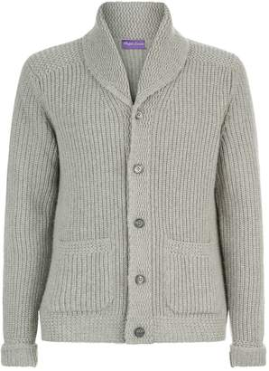 Ralph Lauren Purple Label Cashmere Shawl Cardigan