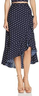 Lucy Paris Ruffled Polka Dot Skirt - 100% Exclusive