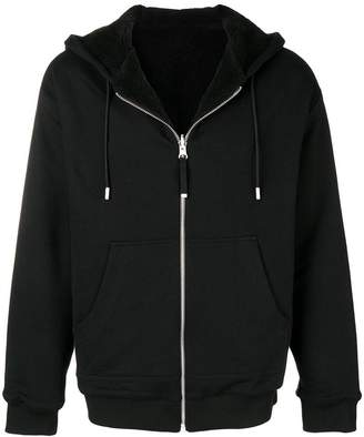 Diesel Black Gold plain zipped hoodie